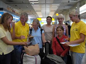Unsere Betreuer bei der Flughafenbetreuung