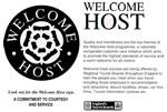 Sprachreisen: Unser englisches Büro erhält das Welcome Host Sign