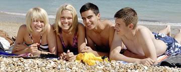 Strandurlaub während unserer Jugendsprachreisen nach England