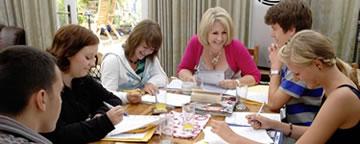 Unterricht während unserer Jugendsprachreisen nach England - Minigruppenkurs