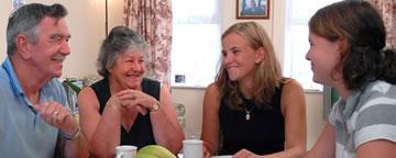 Gastfamilie unserer Schülersprachreise nach England
