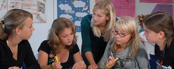 Sprachreisen England Unterricht